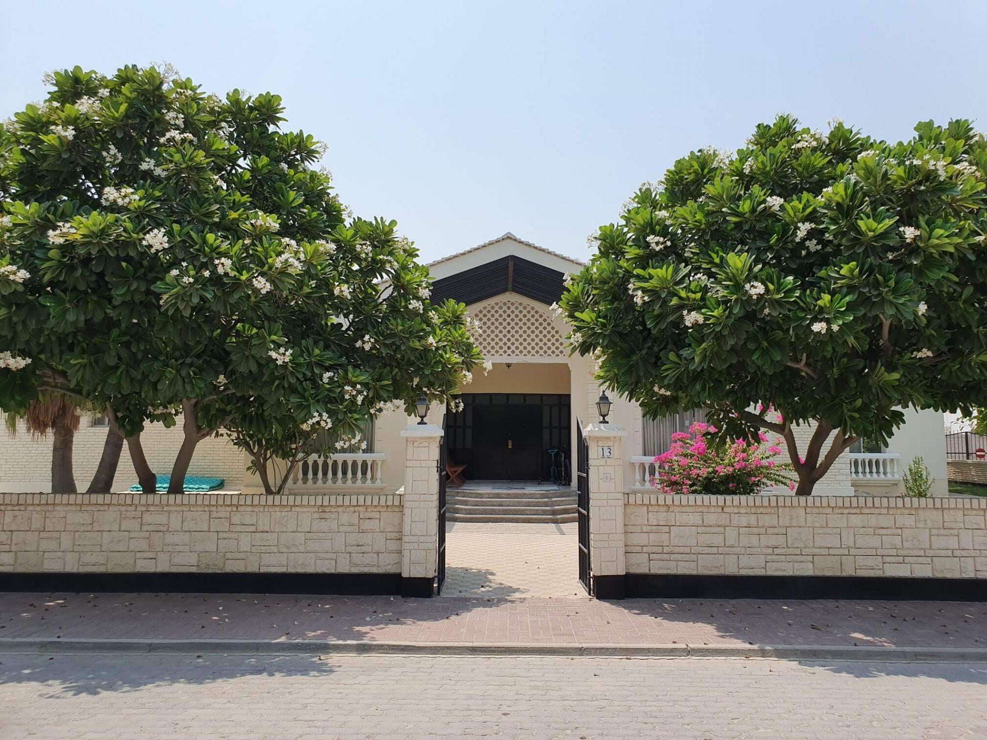 Front Of Villa In Misan Gardens, Saar, Bahrain